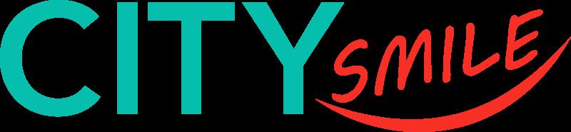 City Smile Fogászat logo hosszú