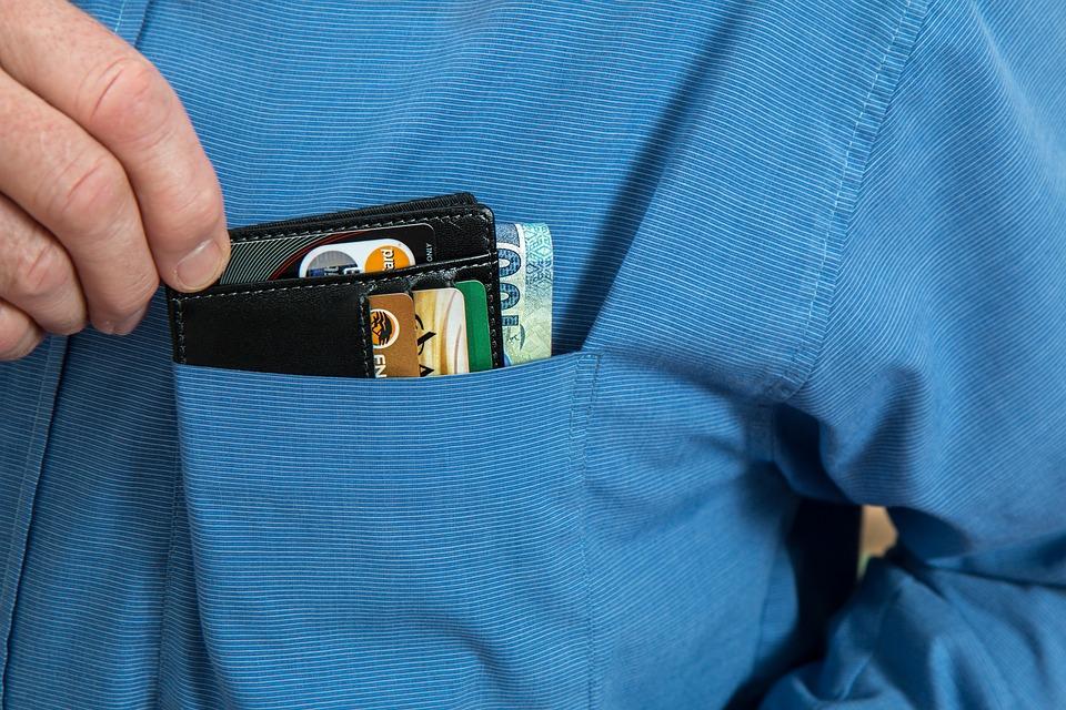 hitelkártya tartó