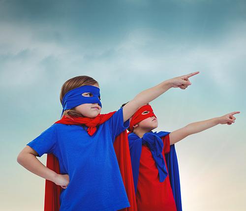 City Smile fogászat Superhősök