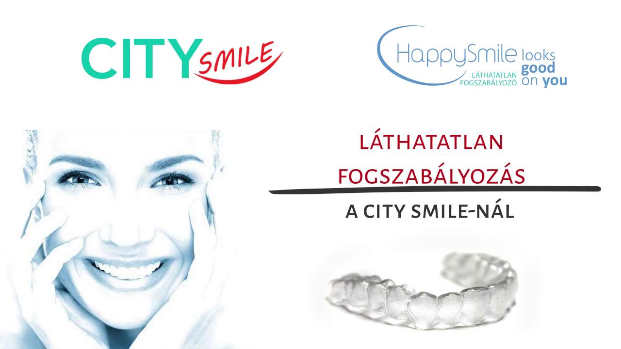 CitySmile - Láthatatlan fogszabályozás